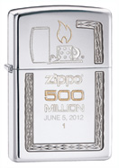 500 MILLIONTH LIMITED EDITION LIGHTER